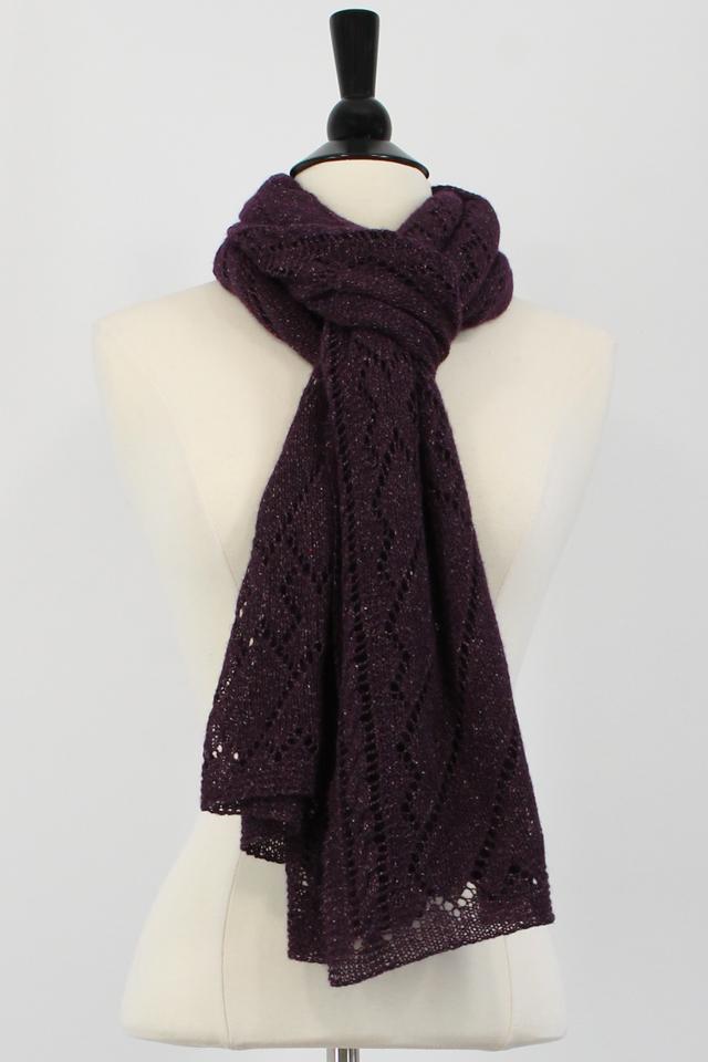 Rectangular Shawl Knitting Pattern : SteveRousseauDesigns Tristan