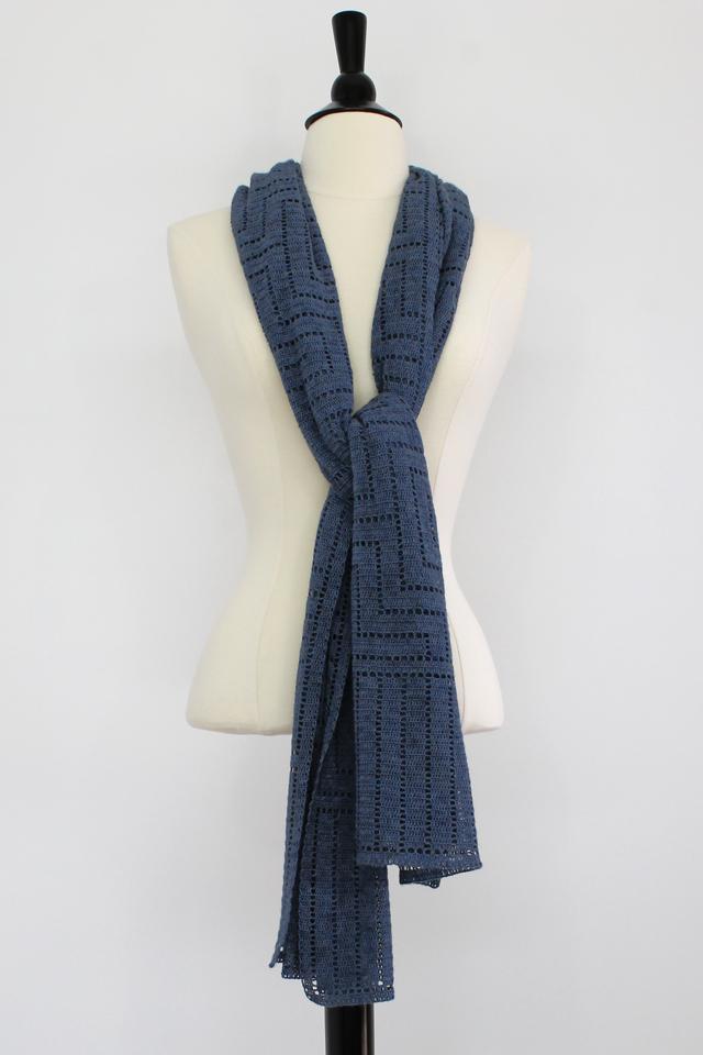 Rectangular Shawl Knitting Pattern : SteveRousseauDesigns Ethan